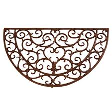 Half Moon Doormat Buy Cast Iron Scroll Half Moon Doormat English Heritage