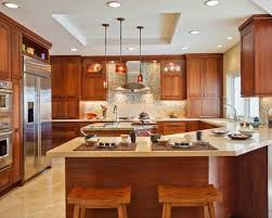 kitchen with island and peninsula beautiful kitchen peninsula ideas 1000 images about island