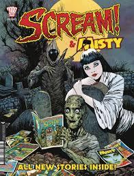classic british horror comics scream and misty return this october