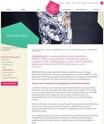 art design jobs leeds press zaramia ava leeds ethical fashion designer stylist