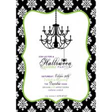 free printable kids halloween party invitations page 4