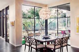 Hill Country Dining Room Contemporary Courtyard Style Home With Texas Hill Country Views