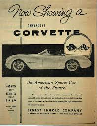 corvette magazine subscription vues magazine 1953 corvette magazine ads trivia1953