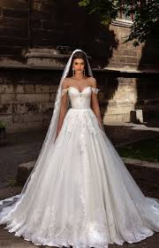 wedding dresses gown the shoulder lace embroidered wedding dress 2769965 weddbook