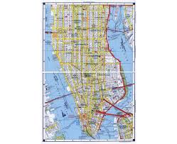 Road Map Of Southern Usa by Maps Of New York Detailed Map Of New York City Tourist Map