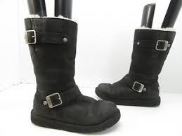 ugg australia s kensington ii free shipping free returns s ugg australia 5678 kensington leather boots black size 5 m
