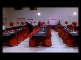 Red And Black Wedding Red Black White Wedding Youtube