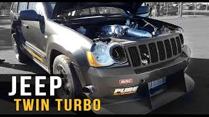 bagged jeep grand cherokee twin turbo awd jeep youtube