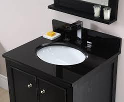Bathroom Vanity With Top Combo 48 Inch Black Bathroom Vanity With White Carrara Marble Top
