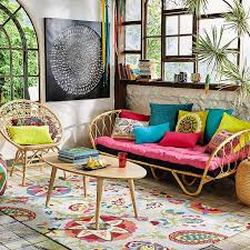 Bohemian Style Interiors Furniture U0026 Home Accessories Exotic Maisons Du Monde Interior