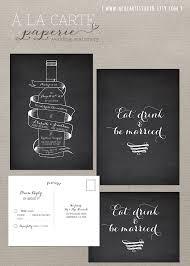 winery wedding invitations wine bottle chalkboard inspired wedding invitation card and