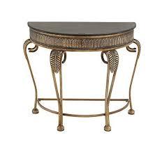 antique half moon table ebay