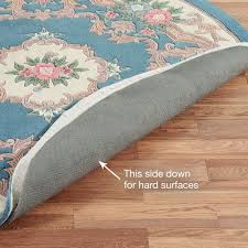 luxehold nonslip reversible rug pads for hard flooring or carpet