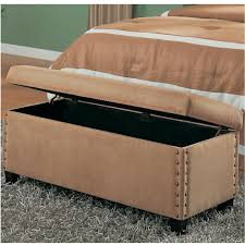 Upholstered Storage Bench With Back Small Upholstered Storage Bench U2014 Jen U0026 Joes Design Stylish