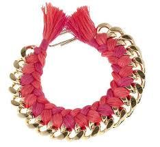 bracelet chain diy images Diy woven chain necklace helloglow co jpg