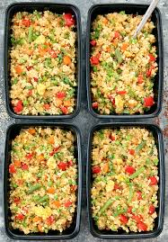quinoa cuisine quinoa fried rice meal prep kirbie s cravings