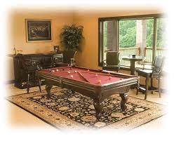 Game Room Rug Bowdoin Billiards Winslow Game Room Furnishings