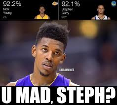 Nba Meme - nick young vs steph curry theswagisreal swaggyp http