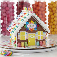 Christmas Cookie Decorating Kit Build It Yourself Gingerbread Doghouse Decorating Kit Wilton