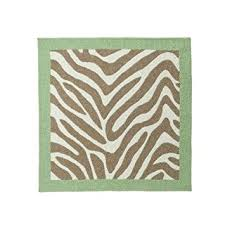 amazon com madagascar zebra stripe nursery rug 36