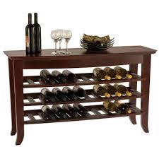 wine rack console table venezia wine rack console table console tables ideas