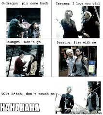 Bigbang Memes - bigbang and girls allkpop meme center