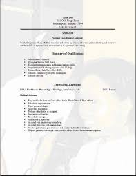 Dietary Aide Resume Samples by Personal Resume Example Estate Caretaker Sample Resume Personal
