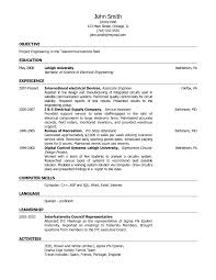 basic resume objective examples template design career in job help