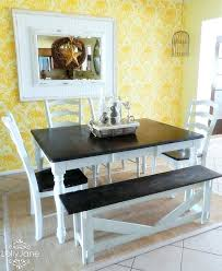 distressed white dining room set antique sets 15 table fiin info 4