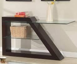 Chrome And Glass Sofa Table Charming Modern Sofa Table With Sofa Table Nero Marquina Marble