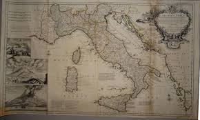Map Of Sicily And Italy by Herman Moll A New Map Of Italy In Italy U0026 Sicily