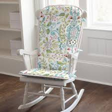 damask chair bird damask rocking chair pad carousel designs