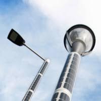 solar light post soluxio the autonomous solar powered light