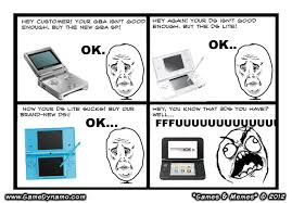 Meme Comics - games memes comics new nintendo 3ds xl bigger and better