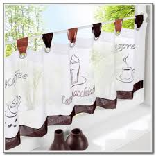 Coffee Themed Curtains Curtain Curtain Coffee Curtains Kitchen Decor Walmart Themed For