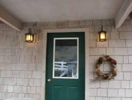 front doors trendy colors door lighting idea exterior image on