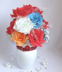 Faux Floral Centerpieces by Centerpieces Holiday Decor Red Bridal Decor Faux Floral
