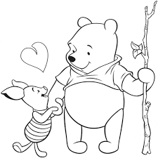 inspirational pooh bear and tigger coloring pages