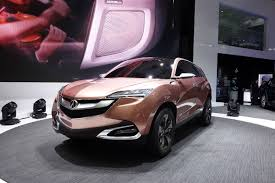 suv acura acura previews new compact crossover in shanghai video