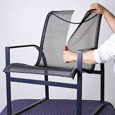 Replacement Patio Chair Slings by Cut The Old Sling How To Repair Aluminum Patio Chairs This Old