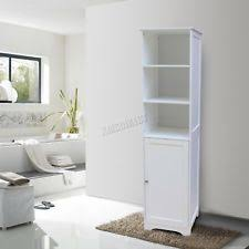 spare repair wall mount wooden bathroom cabinet tall shelving