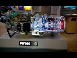 pratt whitney pt6a turboprop turbine animation youtube pratt whitney canada pw100 turboprop engine youtube