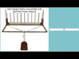 Universal Bed Rail For Convertible Crib Kidco Convertible Crib Bed Rail Finish Review