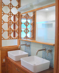 Cool And Amazing Bathroom Remodeling Mid Century HomesFeed - Amazing mid century bathroom vanity house