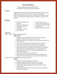 Example Of Server Resume by Server Resume Exclusive Ideas Server Resume Examples 16 Resume