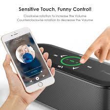 k8 bluetooth wireless speaker with touch control honstek