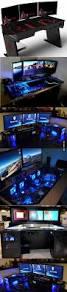 Pc Gaming Desk by 239 Best Computer Desks Images On Pinterest Gaming Setup