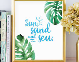 Tropical Decor Tropical Prints Etsy