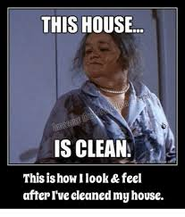 Clean House Meme - this house is clean this is how ilook feel after i ve