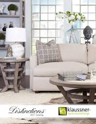 Klaussner Asheboro Nc Distinctions 2017 Catalog By Klaussner Home Furnishings Issuu